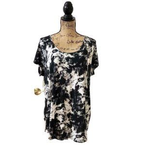 Simply Vera Vera Wang abstract print blouse